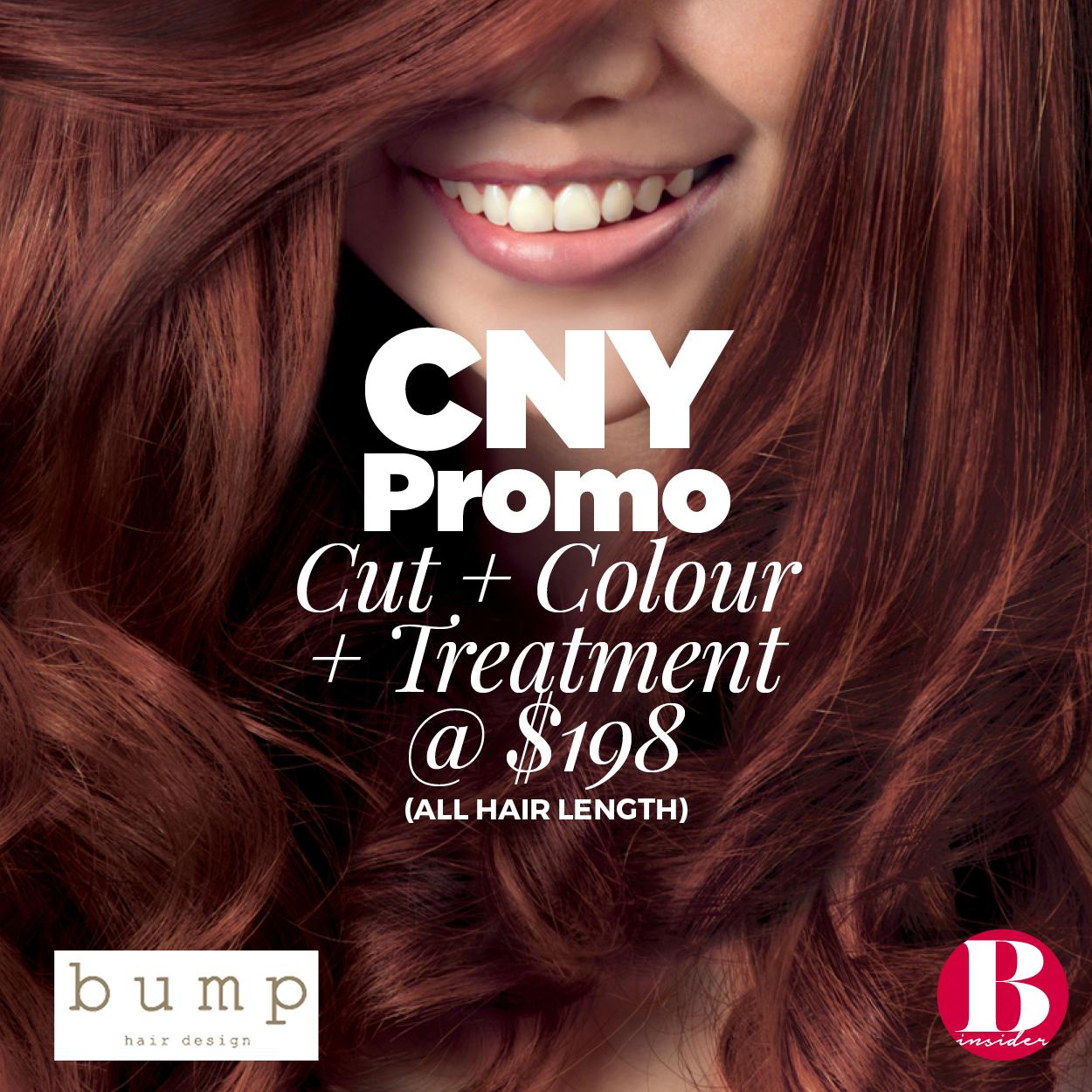 BUMP Hair Promotion
