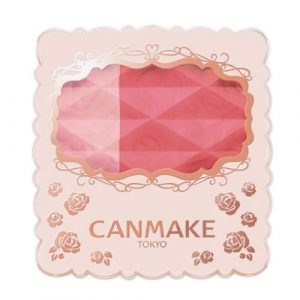Canmake Matte and Crystal Cheek 03