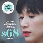 The lash lawn Promo