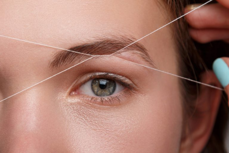 064755b1c75 Eyebrow Shapes 101: Threading vs. Waxing Embroidery