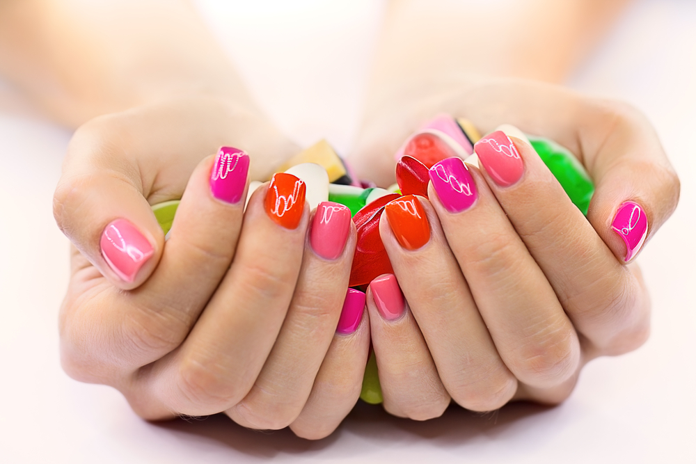 bright nail polish for tanned skin