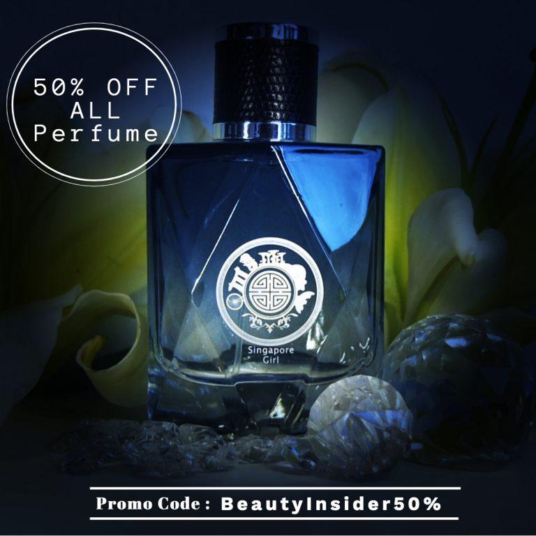 Singapore memories Perfume Promo