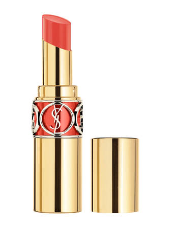 Yves Saint Laurent Rouge Volupte Shine # 14 Corail In Touch