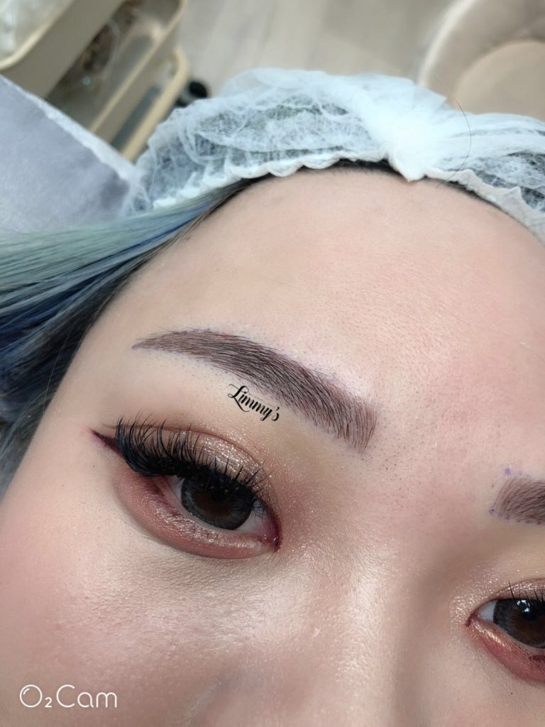 LIMMY'S NAIL AND BEAUTY LOUNGE - Limmy's Signature Feather-Stroke Eyebrow Embroidery  Eyelash Extension Eyebrow Embroidery