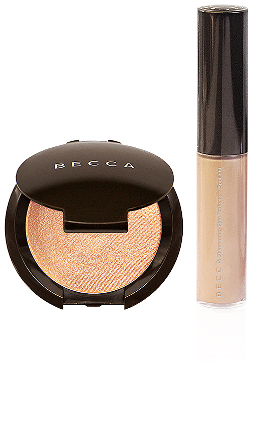 BECCA Champagne Glow On The Go Kit in Champagne Pop
