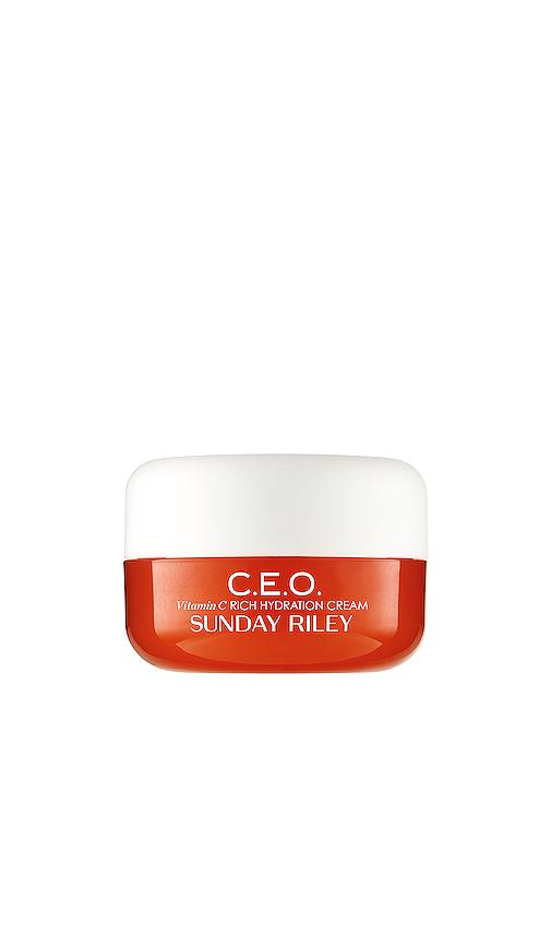 Sunday Riley Travel C.E.O. C + E antioxidant moisturiser