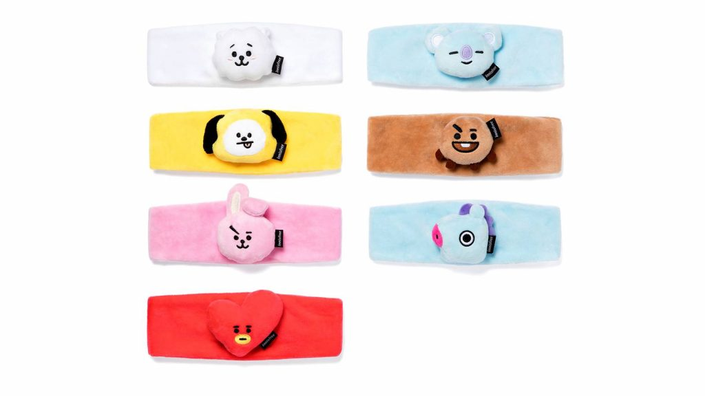 Innisfree x BT21 headband