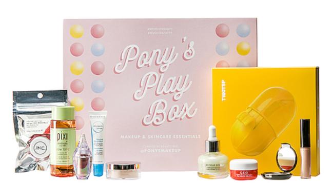 Revolve x PONY Play Box Makeup & Skincare Essentials