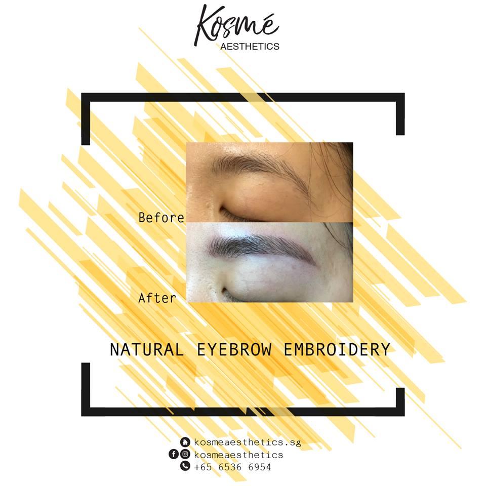 Kosme Aesthetics - Korean Eyebrow Embroidery