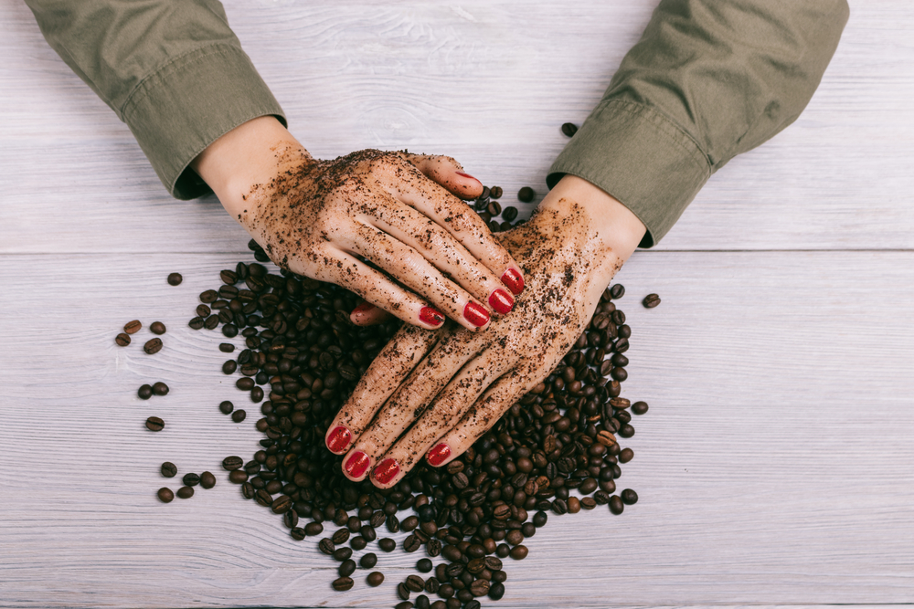 diy coffee scrubs body