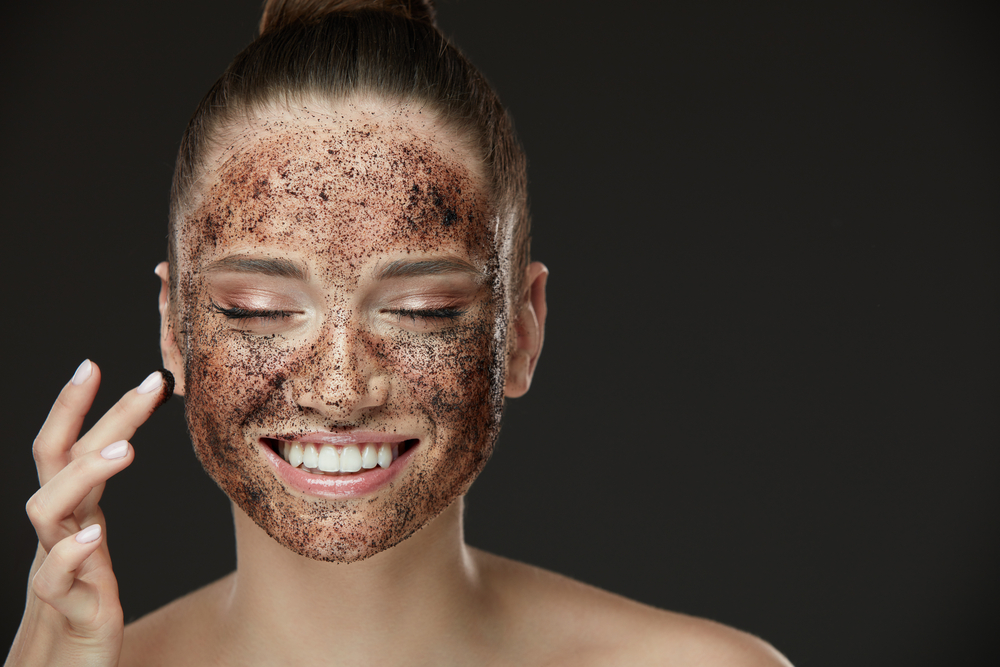 diy coffee scrubs face