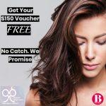 99 percent hair studio promo