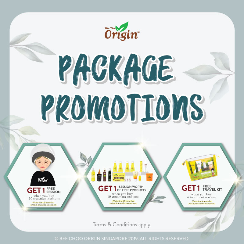 Bee Choo Origin Package Promotion