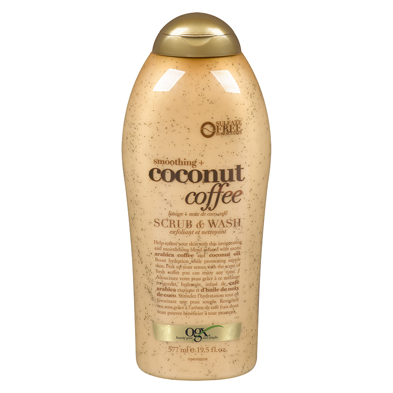 coffee body scrub body wash