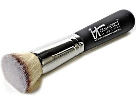 best foundation brush flat