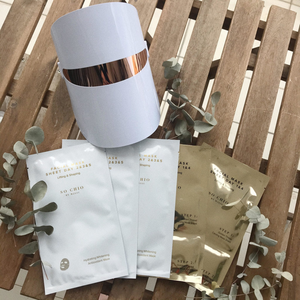 so-chio-led-mask-and-facial-mask-sheet-set