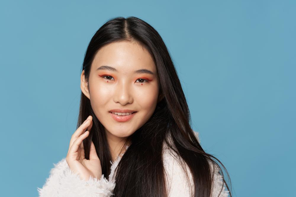 coral-eyeshadow-korean