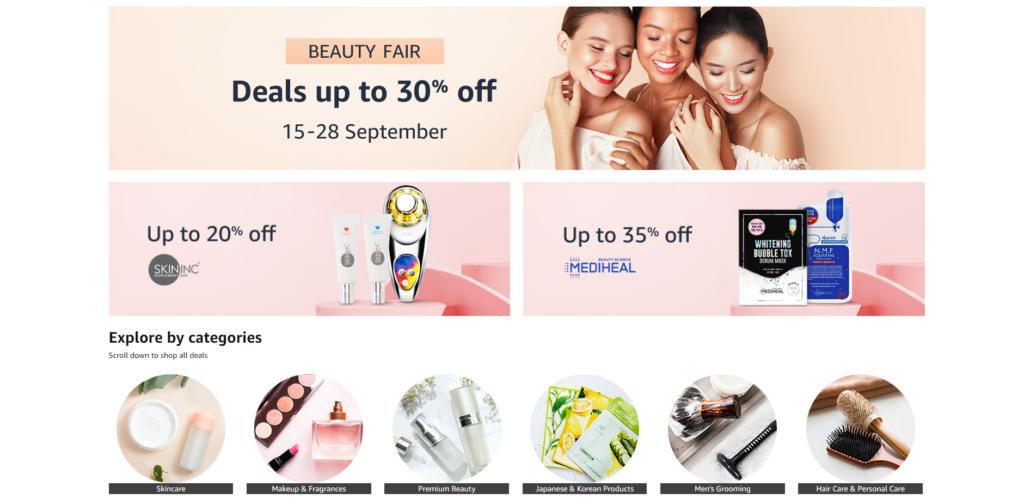 Amazon Beauty Fair